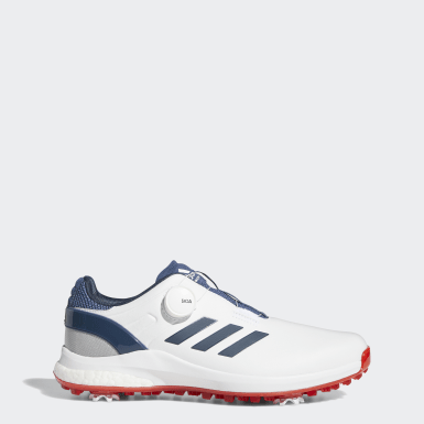 Men Golf White EQT BOA Golf Shoes