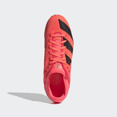 Männer Leichtathletik Sprintstar Spike-Schuh Rosa