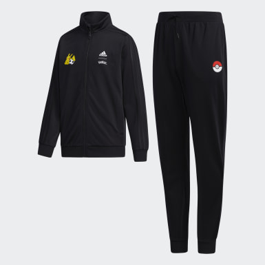 Boys Sport Inspired Black Pokémon Track Suit