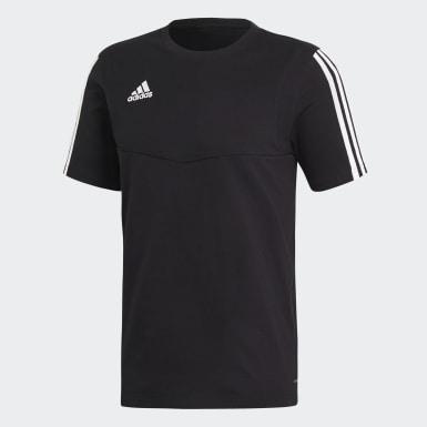 Mænd Træning Sort Tiro 19 T-shirt