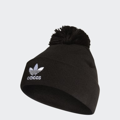Originals Zwart Adicolor Bobble Beanie