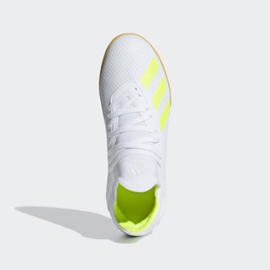 calzado de fútbol X Tango 18.3 Bajo Techo Blanco Niño Fútbol