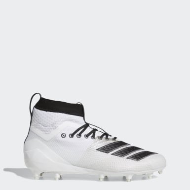 Men's Football White Adizero 8.0 SK Cleats