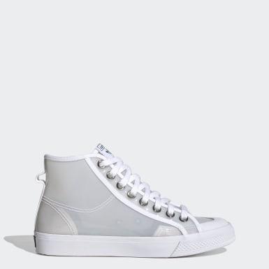Chaussure Nizza Hi Jelly Blanc Femmes Originals