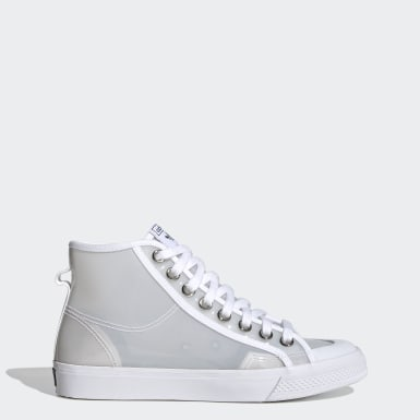 Women Originals White Nizza Hi Jelly Shoes