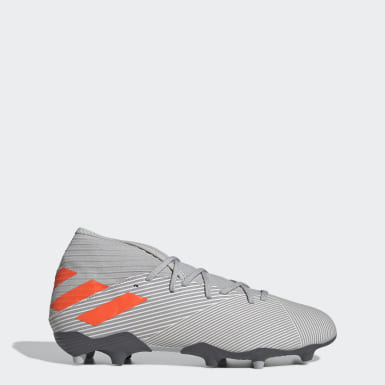 Men Football Grey Nemeziz 19.3 Firm Ground Boots
