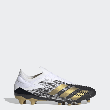 Football White Predator Mutator 20.1 Low Artificial Grass Boots