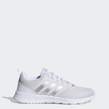 Women Sport Inspired White QT Racer 2.0 Shoes