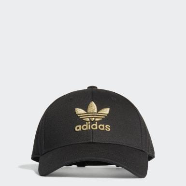 Originals สีดำ หมวกเบสบอล Adicolor Gold