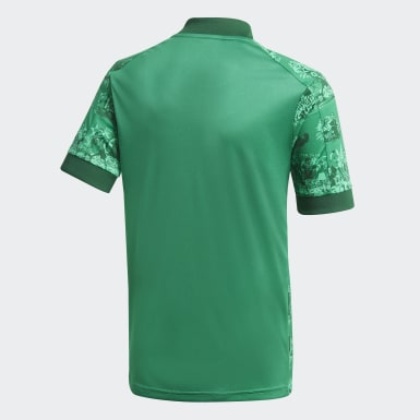 Maillot Domicile Red Star FC 20/21 Vert Enfants Football