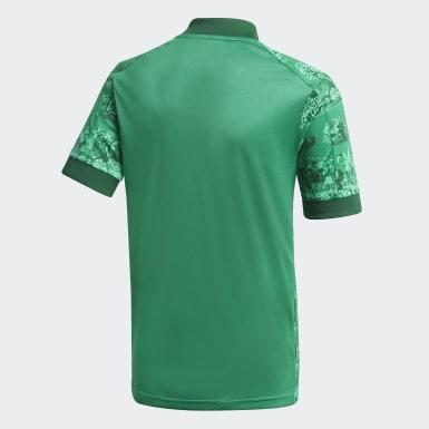 Kinderen Voetbal Groen Red Star FC 20/21 Thuisshirt