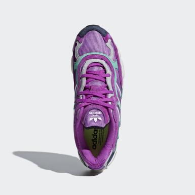 Chaussure Temper Run Violet Hommes Originals