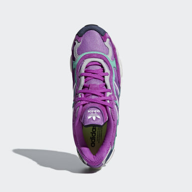 Men Originals Purple Temper Run Shoes