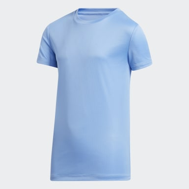 Youth Training Blue Tee