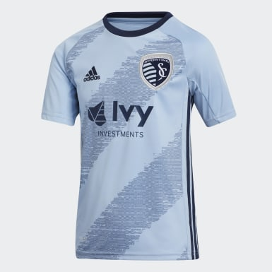 Youth Soccer Blue Sporting Kansas City Home Jersey