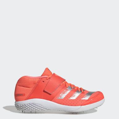 оранжевый Шиповки для легкой атлетики adizero javelin