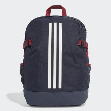 Training Blue 3-Stripes Power Backpack Medium