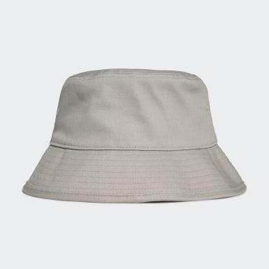 Originals Grey Adicolor Trefoil Bucket Hat