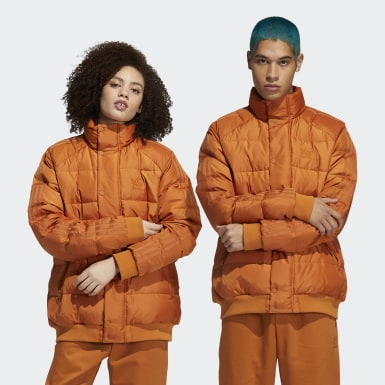Originals Orange Jonah Hill Puff Jacket