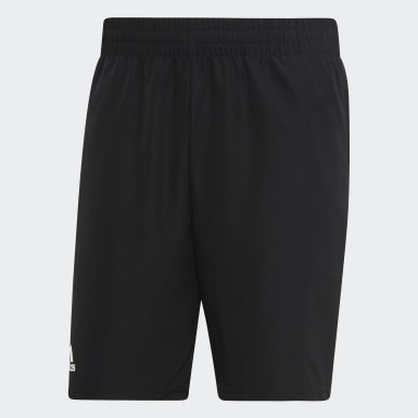 Men Padel Tennis Black Club Shorts 9-Inch