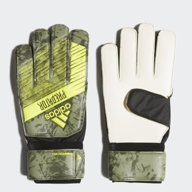 Football Green Predator Top Training Goalkeeper Gloves