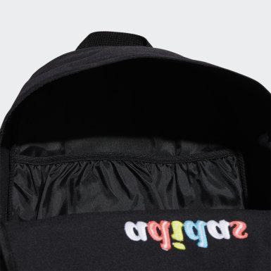 ผู้หญิง เทรนนิง สีดำ กระเป๋าเป้ทรงคลาสสิก