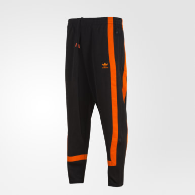 Pants Warm-Up Negro Hombre Originals