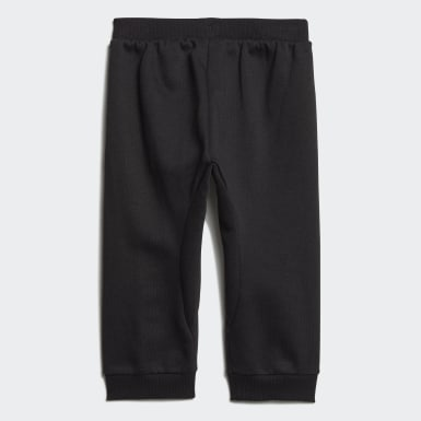 Kids Athletics Black Linear Pants