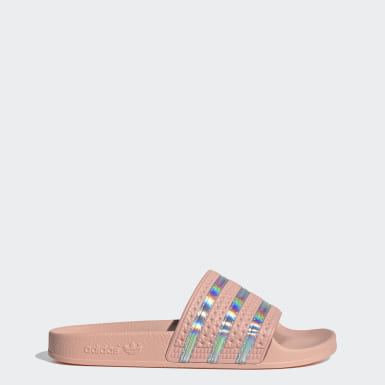 Dam Originals Rosa Adilette Slides
