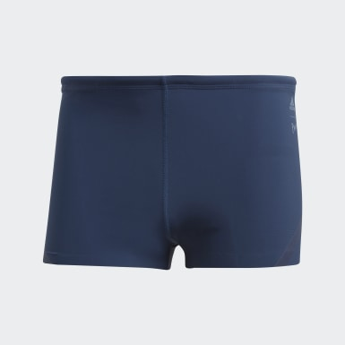 Men Swimming Blue Parley Hero Swim Boxers