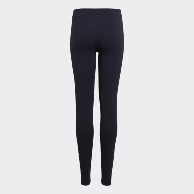 Girls Athletics Blå Essentials Linear tights