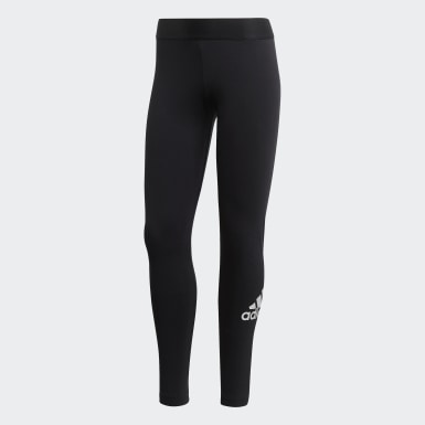 Women Athletics Black Must Haves Badge of Sport Leggings