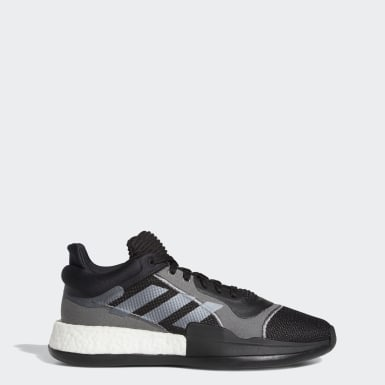 Men's Basketball Black Marquee Boost Low Shoes
