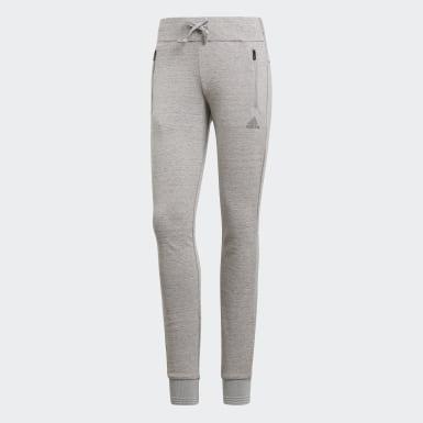 Women Athletics Grey ID Pants