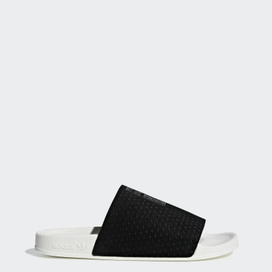 Women Originals Black Adilette Luxe Slides
