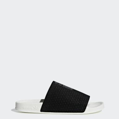 Ženy Originals černá Pantofle Adilette Luxe