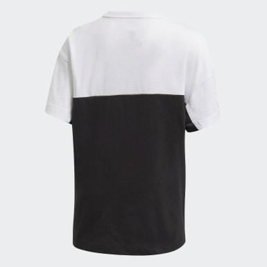 เด็ก Originals สีดำ เสื้อยืด