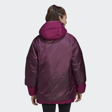 Γυναίκες City Outdoor Burgundy COLD.RDY Down Jacket