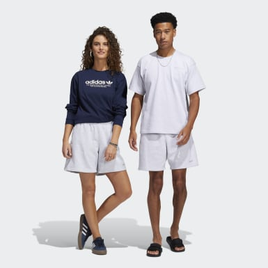 Originals grijs Pharrell Williams Basics Short (Uniseks)
