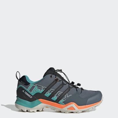 Heren TERREX blauw Terrex Swift R2 GORE-TEX Hiking Schoenen