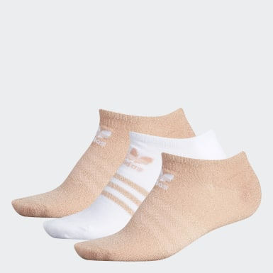 Lurex No-Show Socks 3 Pairs