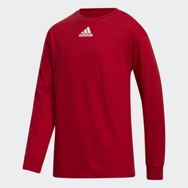 Youth Training Red Y LS AMPLIFIER TEE -TEAM