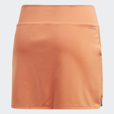 Girls Padeltennis Orange Club Skirt
