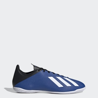Calzado de Fútbol X 19.4 Bajo Techo Azul Hombre Fútbol