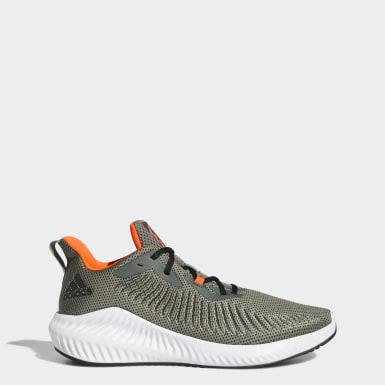 Men's Running Green Alphabounce+ Shoes