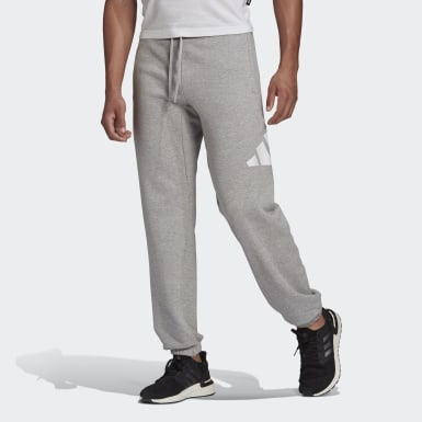 Men's Athletics Grey adidas Sportswear Badge of Sport Sweat Pants