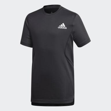 Jungen Training HEAT.RDY T-Shirt Schwarz