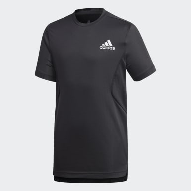 T-shirt HEAT.RDY Preto Rapazes Treino