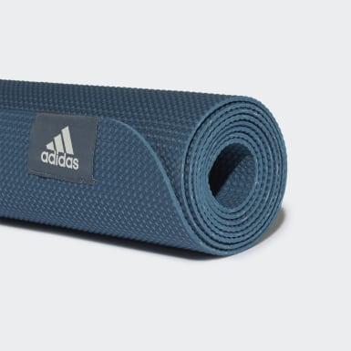 синий Коврик для йоги