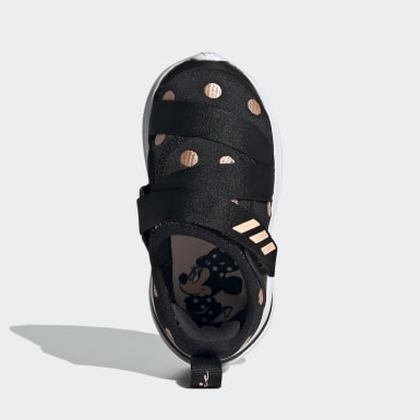 Infant & Toddler Running Black FortaRun X Polka-Dot Shoes